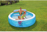 Intex Swim Centre Lounge Pool with Armchair - 7.5ft - 640L