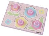 Kid Kraft Flower Jumbo Peg Puzzle - 4 Pieces