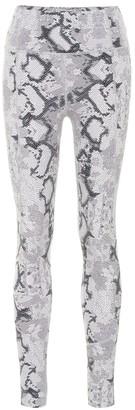 Varley Bedford snake-print leggings