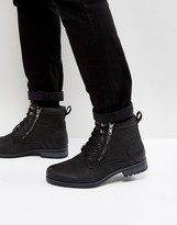 New Look New Look Military Boot In Black