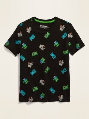 Old Navy Minecraft Graphic Tee for Boys