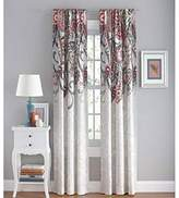 """Your Zone Paisley Polyester 42"""" x 84"""" Curtain Panel, Set of 2 - Coral"""