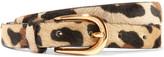 Andersons Anderson's - Leopard-print Calf Hair Belt - Leopard print