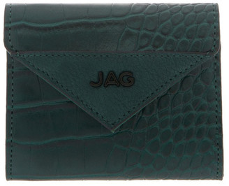 Jag Lucille Flap-Over Green Wallet