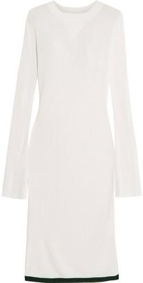 Ellery Jupiter Ribbed-knit Midi Dress