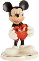 Lenox Closeout! Collectible Disney Figurine, Mickey Mouse and Friends Love Struck Mickey