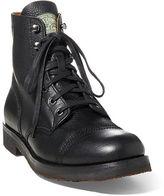 Polo Ralph Lauren Enville Leather Cap-Toe Boot