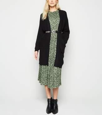 New Look Ribbed Long Sleeve Longline Cardigan