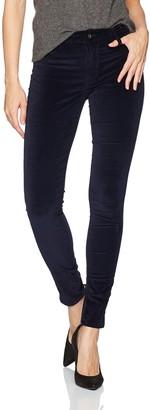 James Jeans Women's Twiggy Skinny Velveteen Pant in Dark Royal