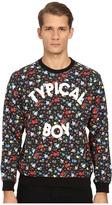 Love Moschino Typical Boy Floral Sweatshirt