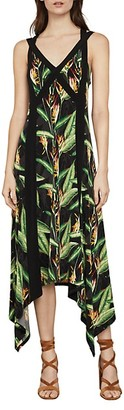 BCBGMAXAZRIA Bird of Paradise Strappy Maxi Dress