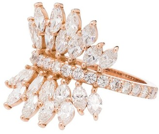 Shay Butterfly 18kt gold diamond ring