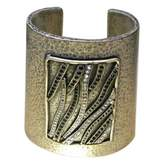 Saint Laurent Silver Metal Bracelet