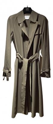 Harris Wharf London Khaki Polyester Coats