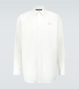 Acne Studios Saco Face cotton Oxford shirt