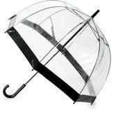 Saks Fifth Avenue Birdcage Stick Umbrella