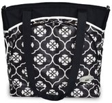 JJ Cole Mode Diaper Bag, Black Floret (Discontinued by Manufacturer) by