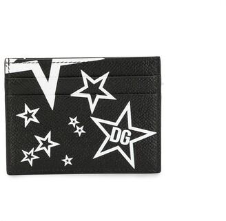 Dolce & Gabbana Star Print Cardholder