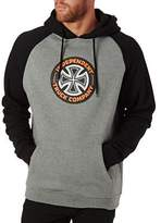 Independent Hoodies Combi TC Raglan Hoodie - Black/Dark Heather