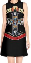 Swingthe Sun Guns N Roses Experience Women's Dresses Round Neck Bridesmaid Dress