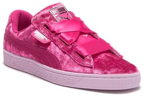 sale retailer 0c764 c0aca Basket Heart Sneaker (Toddler, Little Kid & Big Kid)
