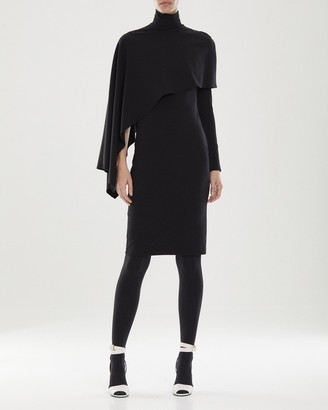 Halston Layla Micro Knit Dress