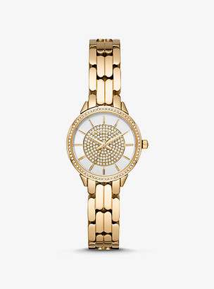 Michael Kors Mini Allie Gold-Tone Watch - Gold