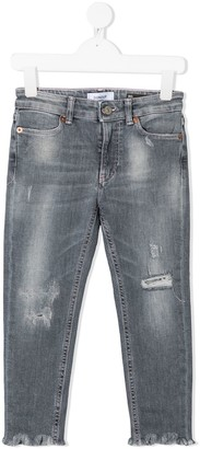 Dondup Kids Mid-Rise Skinny Jeans