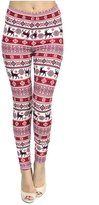 VIV Collection PLUS SIZE Seasonal Printed Leggings
