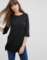Vero Moda Lucy Split 3/4 Sleeve Top