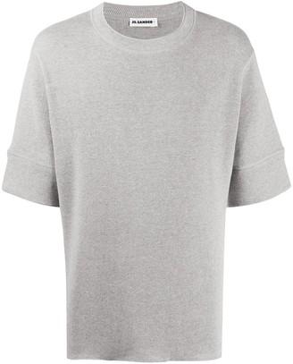 Jil Sander Logo Patch Cotton Top