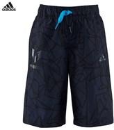 adidas Navy Messi Bermuda Shorts