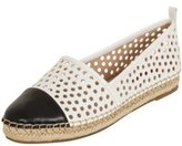Dorothy Perkins Womens *London Rebel Black and White Espadrille- Black And White