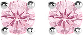 Thomas Sabo Glam and Soul pink stone large sterling silver earrings