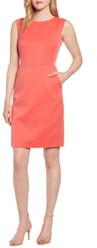 Anne Klein Stretch Twill Sheath Dress