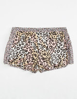 Full Tilt Leopard Print Girls Shorts