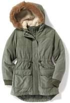 Old Navy Faux-Fur Trim Hooded Parka for Girls