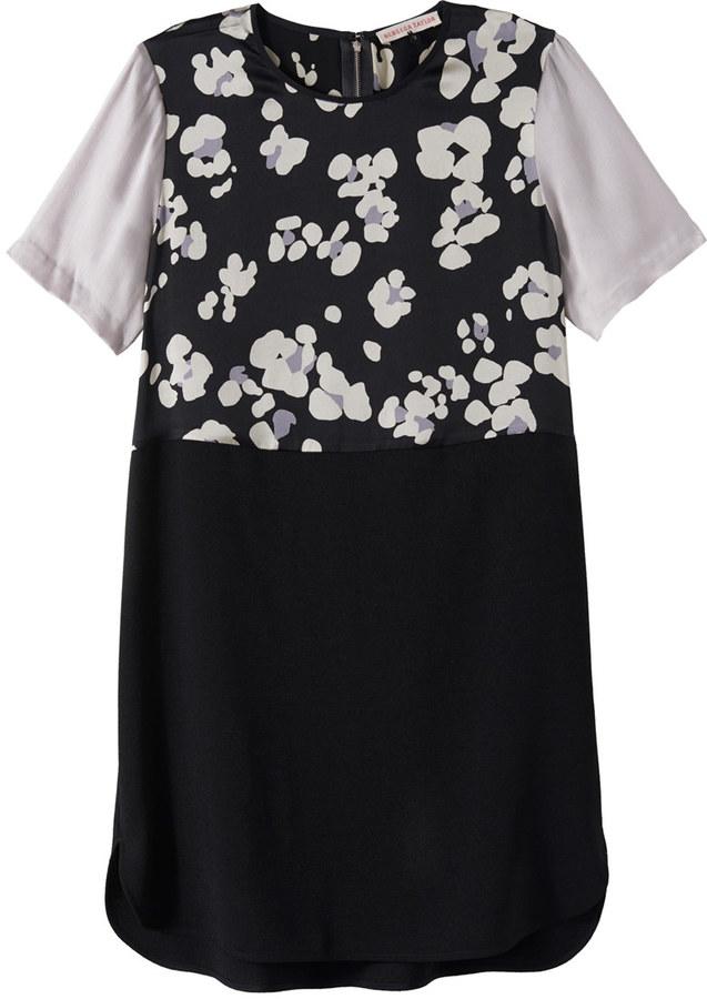 Rebecca Taylor Cool Cat Print Dress
