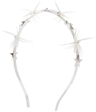 Gigi Burris Millinery Dhalyn star feather headband