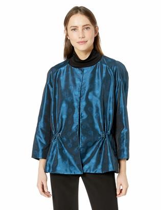 Anne Klein Women's Cropped Open Front Jacket