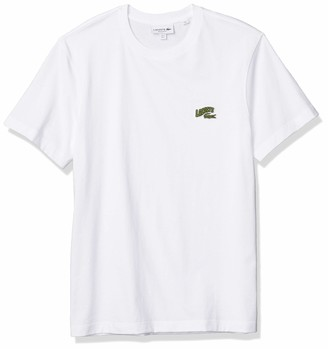 Lacoste Men's Short Sleeve Croc Animation Jersey T-Shirt
