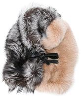 Jil Sander - châle bicolore