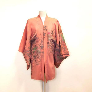 Pearl & Queenie - Short Kimono The Poppy