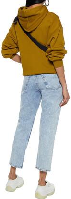 Rag & Bone Maya Cropped Acid-wash High-rise Straight-leg Jeans