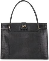 Dolce & Gabbana Ingrid Iguana Print Leather Bag