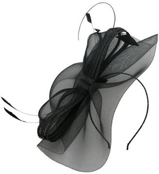 Morgan & Taylor Crinoline Bow & Feathers On Headband