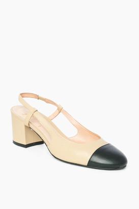 French Sole Baton Heels
