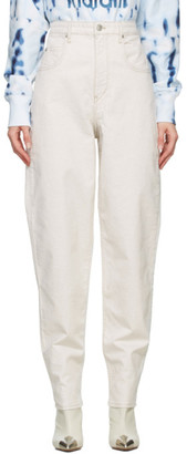 Etoile Isabel Marant Taupe Corfy Jeans