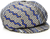 Missoni Newsboy Plaid Cap