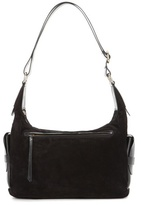 Isabel Marant Corte Day Suede And Leather Shoulder Bag